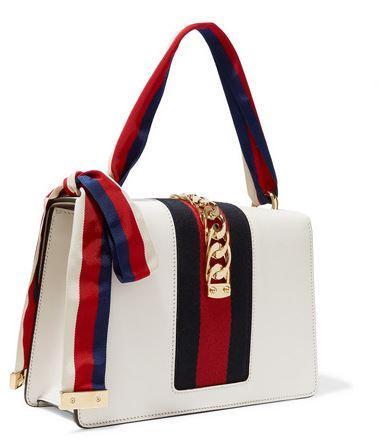 2d6da79ac75e4 Gucci Sylvie Leather Shoulder Bag